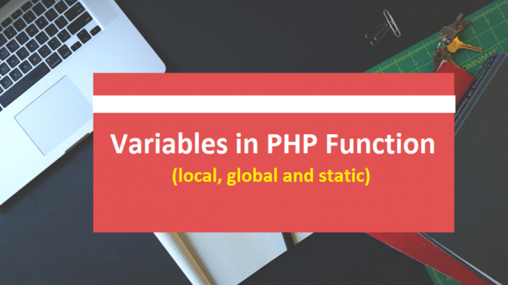 PHP Variables in Function